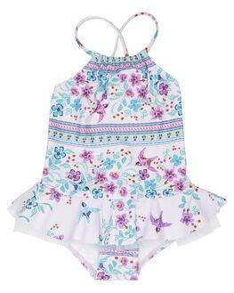 MULTI KIDS GIRLS SEAFOLLY SWIMWEAR - 15495T-144MUL