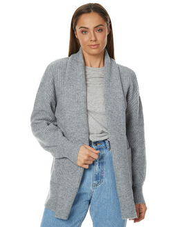 GREY MARLE WOMENS CLOTHING RUSTY KNITS + CARDIGANS - CKL0322GMA