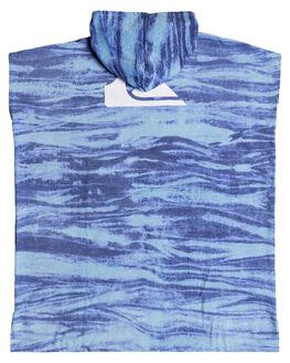 SKY BLUE MENS ACCESSORIES QUIKSILVER TOWELS - EQYAA03712BGC0