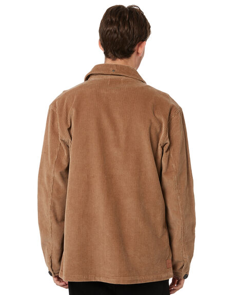 TAN CORD MENS CLOTHING RPM JACKETS - 21WM16B1TANCD
