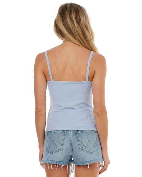 PALE BLUE OUTLET WOMENS THE HIDDEN WAY FASHION TOPS - H8171174PBLUE