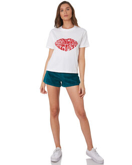 WHITE WOMENS CLOTHING WRANGLER TEES - W-951449-N60