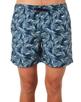 BLUE COMBO MENS CLOTHING ACADEMY BRAND BOARDSHORTS - 19S709BLUCO