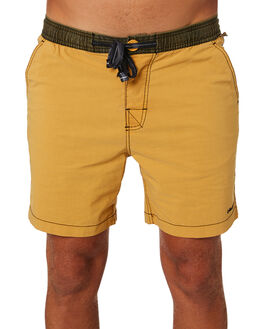 AMBER GOLD MENS CLOTHING THE CRITICAL SLIDE SOCIETY BOARDSHORTS - BS1881AMBGL