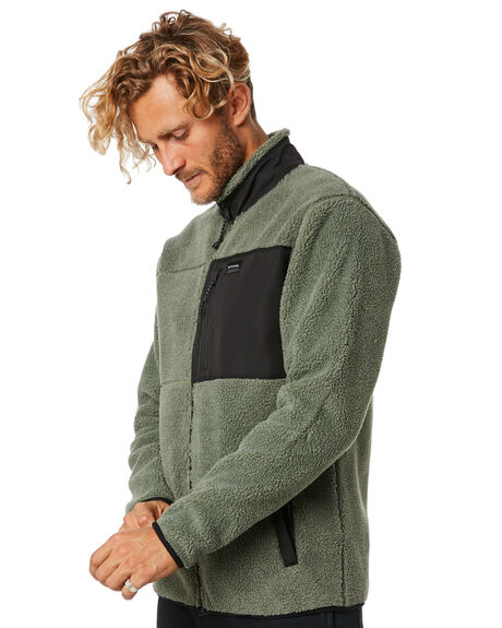 MID GREEN MENS CLOTHING RIP CURL JUMPERS - CFEOY19436