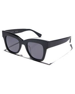 BLACK GLOSS WOMENS ACCESSORIES OSCAR AND FRANK SUNGLASSES - 001BLBLKGL