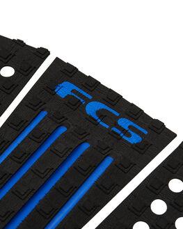 BLACK BLUE BOARDSPORTS SURF FCS TAILPADS - FJW02BLKBL