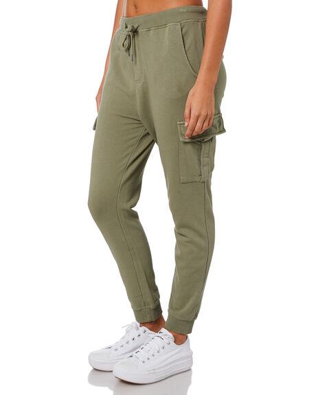 KHAKI WOMENS CLOTHING ALL ABOUT EVE PANTS - 6453047KHAK