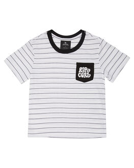 WHITE KIDS TODDLER BOYS RIP CURL TOPS - OTEXL31000