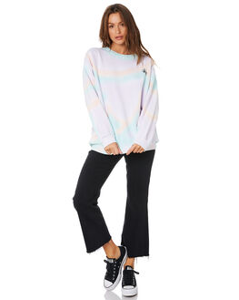PASTEL WOMENS CLOTHING STUSSY JUMPERS - ST105305PASTL