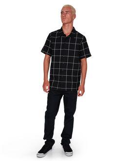 BLACK/WHITE MENS CLOTHING BILLABONG SHIRTS - BB-9592205-BA0