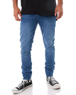 BLUE STING MENS CLOTHING ZIGGY JEANS - ZM-1368BLUST