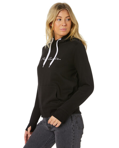 BLACK WOMENS CLOTHING RIP CURL JUMPERS - GFEJE10090