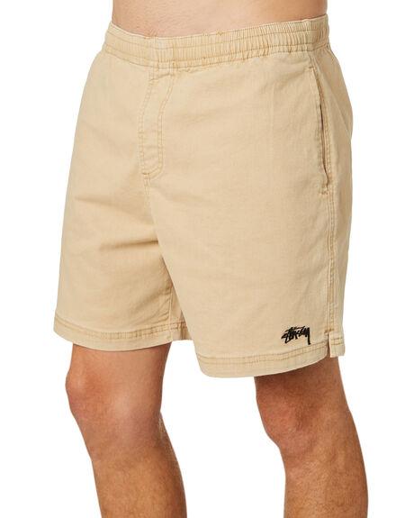 TAN MENS CLOTHING STUSSY SHORTS - ST082610TAN