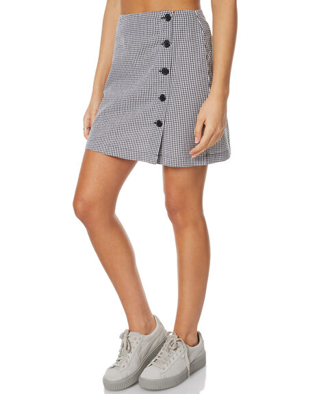 GINGHAM WOMENS CLOTHING RVCA SKIRTS - R271832GING