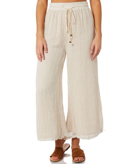 SAND WOMENS CLOTHING SAINT HELENA PANTS - SH2A121J-W-SAND