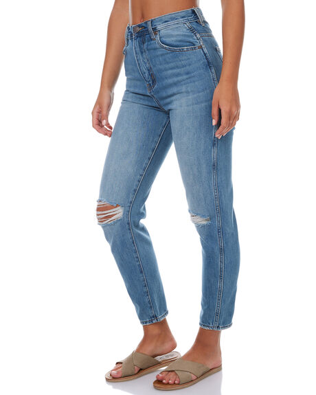 SPRINGSTEEN BLUE WOMENS CLOTHING ZIGGY JEANS - ZW-1447SSB