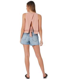 SHRIMP WOMENS CLOTHING RUSTY FASHION TOPS - WSL0638SIP