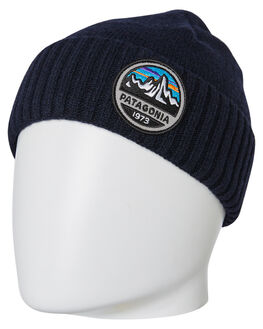 FITZ ROY NAVY BLUE MENS ACCESSORIES PATAGONIA HEADWEAR - 29206FRNA