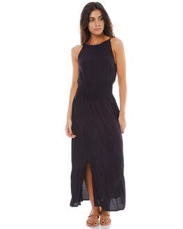ANTHRACITE WOMENS CLOTHING ROXY DRESSES - ERJWD03134KVJ0