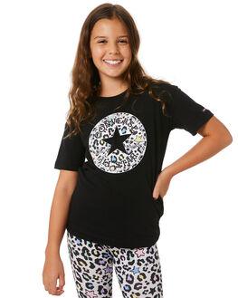 BLACK KIDS GIRLS CONVERSE TOPS - R46A367023