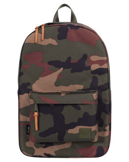 WOODLAND CAMO MENS ACCESSORIES HERSCHEL SUPPLY CO BAGS - 10230-01836-OSWOOD