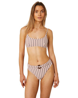 STRIPE WOMENS SWIMWEAR TIGERLILY BIKINI TOPS - T395593STRP