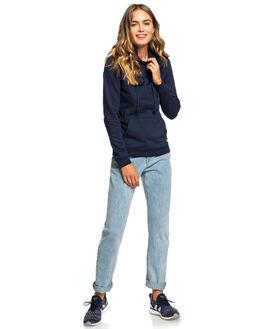 DRESS BLUES WOMENS CLOTHING ROXY JUMPERS - ERJFT03943-BTK0