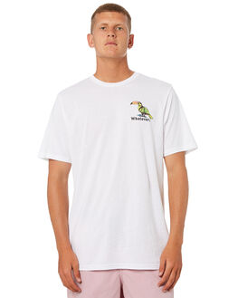WHITE MENS CLOTHING VOLCOM TEES - A5041870WHT