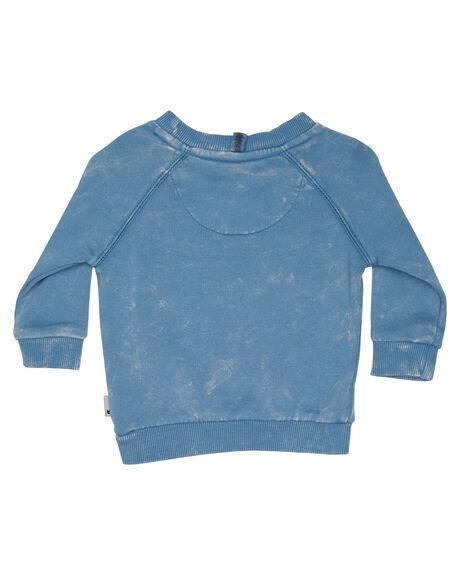 WASHED BLUE KIDS BABY MUNSTER KIDS CLOTHING - MI181FL01WBLU