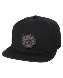 BLACK MENS ACCESSORIES COAL HEADWEAR - 220002BLK