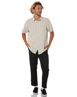 NATURAL MENS CLOTHING MR SIMPLE SHIRTS - M-04-33-10NAT