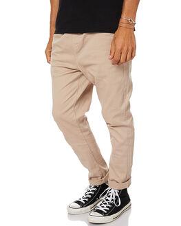 KHAKI MENS CLOTHING ACADEMY BRAND PANTS - 17W112KHA