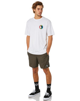 WHITE MENS CLOTHING TOWN AND COUNTRY TEES - TTE111MWHT