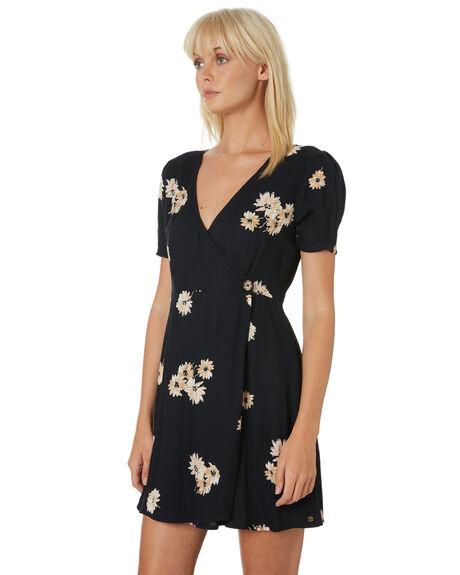 BLACK WOMENS CLOTHING VOLCOM DRESSES - B1331906BLK