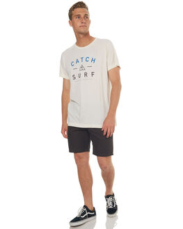 WHITE MENS CLOTHING CATCH SURF TEES - A7TEE005WHT