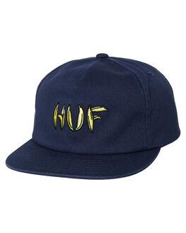 MIDNIGHT MENS ACCESSORIES HUF HEADWEAR - HT00168MID