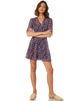NAVY SCARLET WOMENS CLOTHING THE FIFTH LABEL DRESSES - 40181185-1NVY