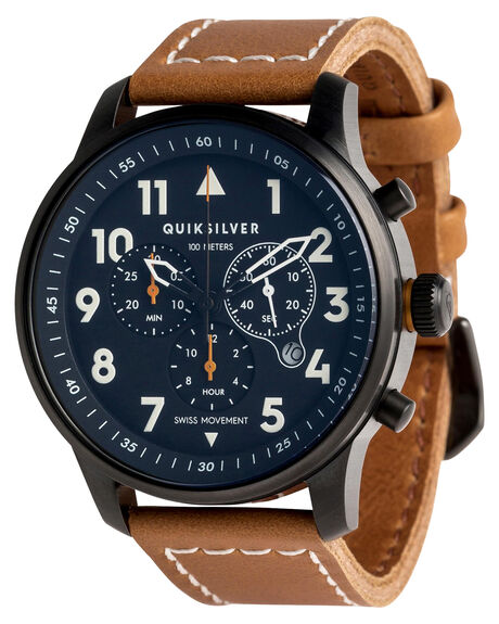 BROWN MENS ACCESSORIES QUIKSILVER WATCHES - EQYWA03015CSQ0