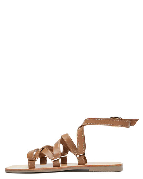 TAN WOMENS FOOTWEAR CAVERLEY FASHION SANDALS - 202S124STAN