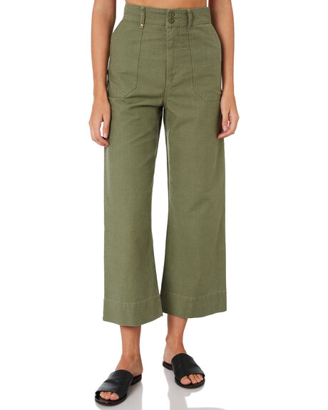 JUNGLE ARMY WOMENS CLOTHING THRILLS PANTS - WTH9-401FARMY