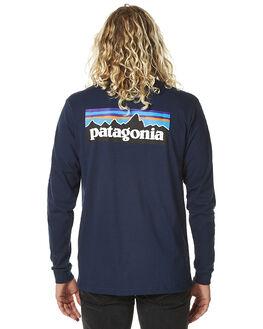 NAVY BLUE MENS CLOTHING PATAGONIA TEES - 38933NVYB