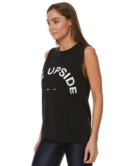 BLACK WOMENS CLOTHING THE UPSIDE ACTIVEWEAR - UPL1286BBLK