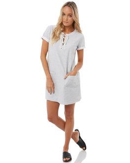 MARSHMALLOW WOMENS CLOTHING ROXY DRESSES - ERJKD03169WBT0