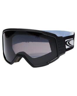 MATT BLACK GREY BOARDSPORTS SNOW CARVE GOGGLES - 6092MBLKG