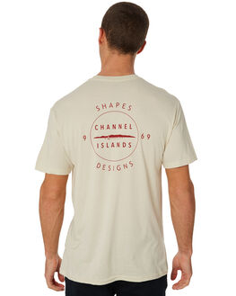 NATURAL MENS CLOTHING CHANNEL ISLANDS TEES - 20464100105NAT