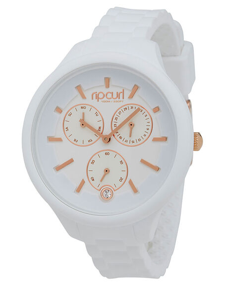 WHITE WOMENS ACCESSORIES RIP CURL WATCHES - A2916G1000