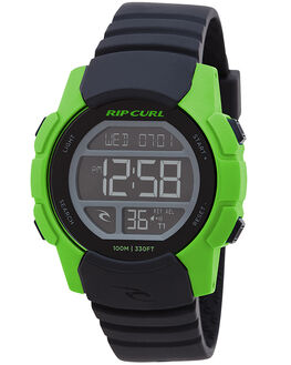FLURO GREEN KIDS BOYS RIP CURL WATCHES - A28694515