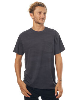 FADED BLACK DISPOSAL MENS CLOTHING AFENDS TEES - 01-01-278FBLKD
