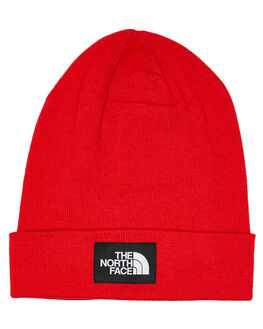 TNF RED TNF BLACK MENS ACCESSORIES THE NORTH FACE HEADWEAR - NF0A3FNTKZ3